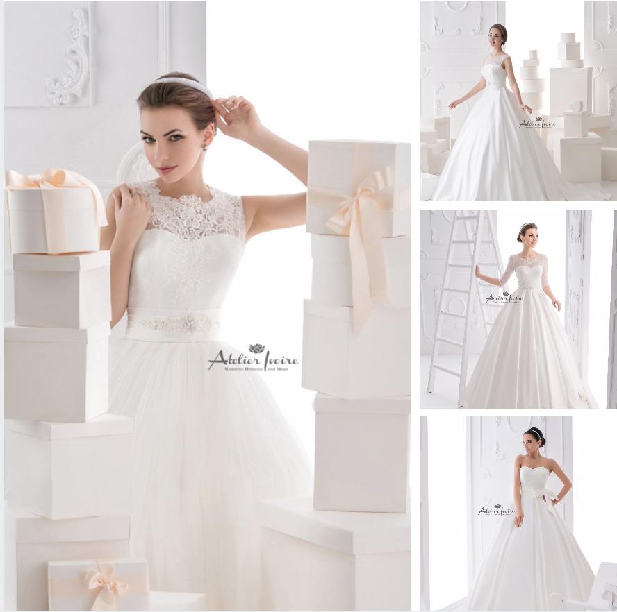 Булчински рокли Atelier Ivoire Happy Brides 2015