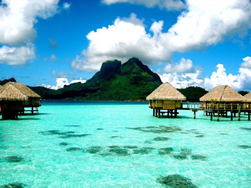 bridalidol_top_destinations_for_honeymoon_for_2014_Bora Bora, French Polynesia