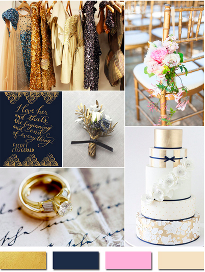 bridalidol_wedding_colours_2015_gold _and_navy