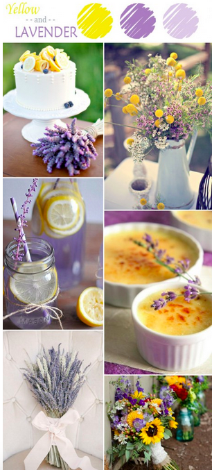 bridalidol_7_ideas_for_summer_wedding_with_yellow_lavender