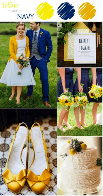 bridalidol_7_ideas_for_summer_wedding_with_yellow_navy