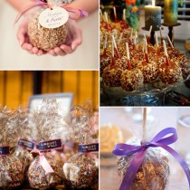 bridalidol_fall_wedding_favors_for_guests_caramel_apples