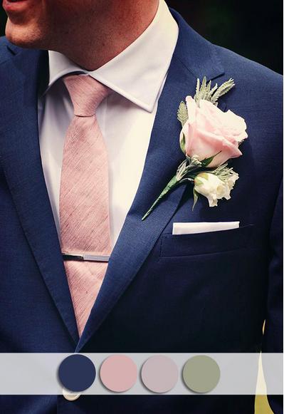 bridalidol_top_10_fall_wedding_colours_navy_and_blush