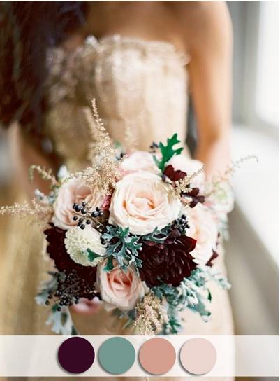 bridalidol_top_10_fall_wedding_colours_plum_sage_nude