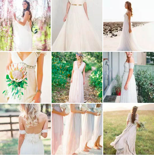 bridalidol_top_five_wedding_dress_silhouettes_high_waist_style