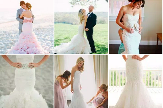 bridalidol_top_five_wedding_dress_silhouettes_mermaid_style