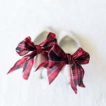 bridalidol_diy_tartan_bow_shoe_clip_for_wedding_shoes_1