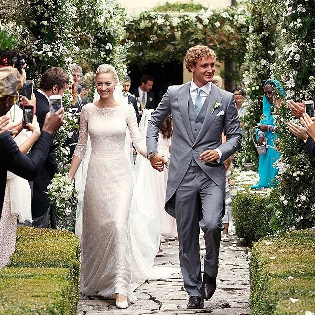 bridalidol_the_most_memorable_celebrity_weddings_for_2015_Pierre-Casiraghi-Beatrice-Borromeo