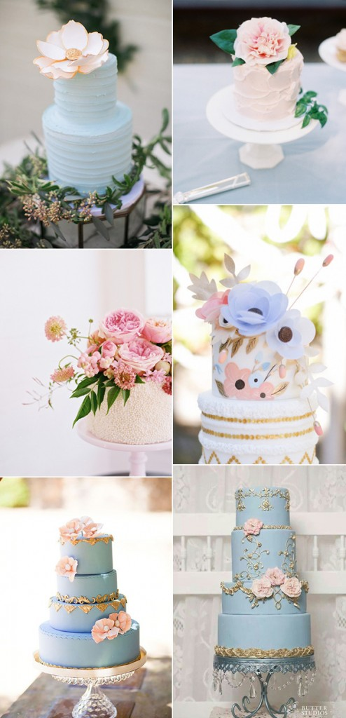 bridalidol_rose_quartz_and_serenity_wedding_theme_the_cake
