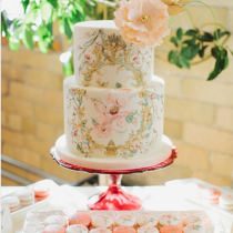bridalidol_wedding_trends_2016_painted_wedding_cakes_6