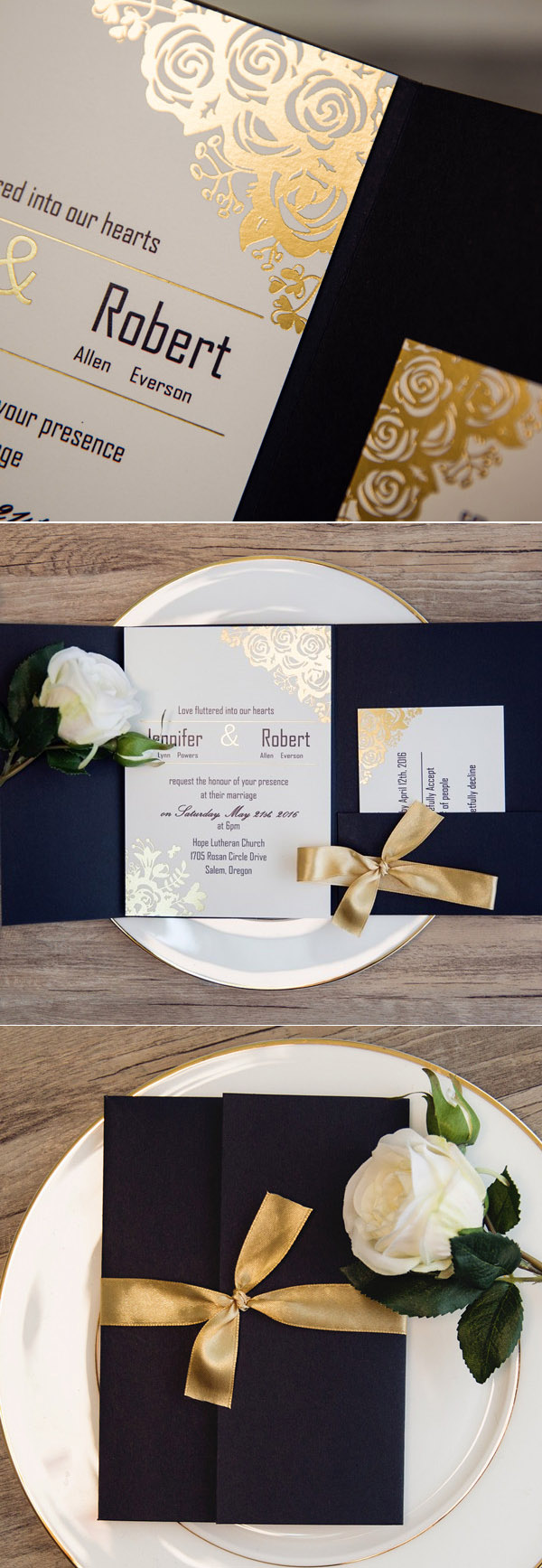 wedding_trends_2017_wedding_invitations_gold_silver_bronze