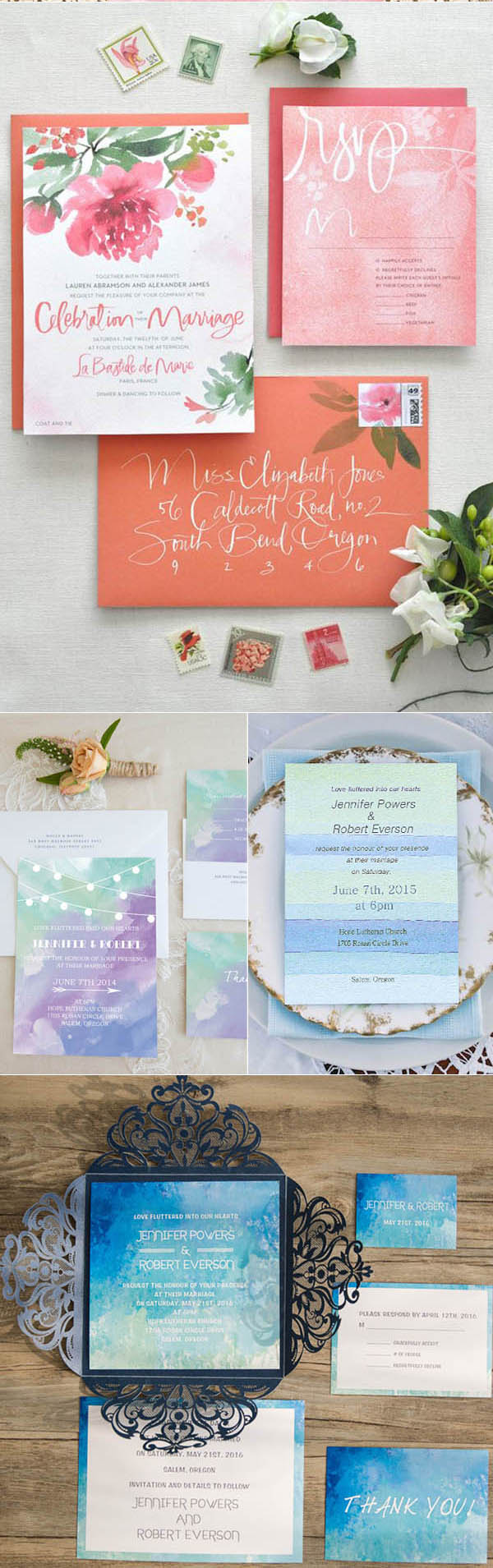 wedding_trends_2017_wedding_invitations_watercolor
